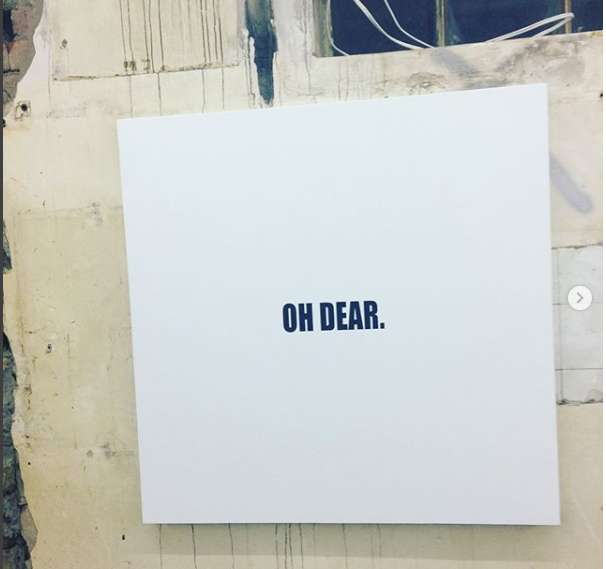 Bad Gallerist: Ed Young goes fucktard