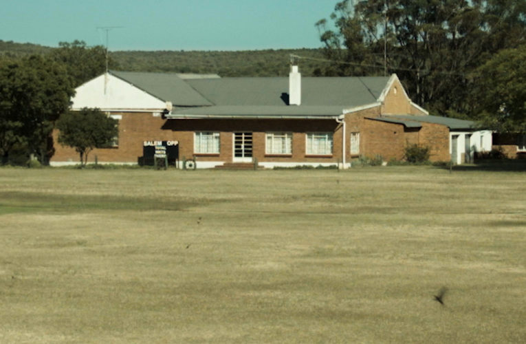 Two churches and a cricket field